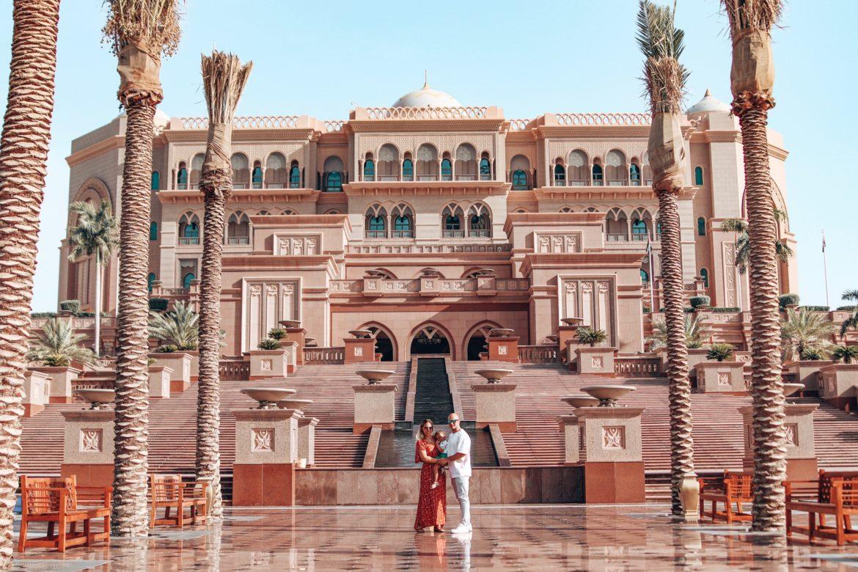 Verblijf bij Emirates Palace Hotel